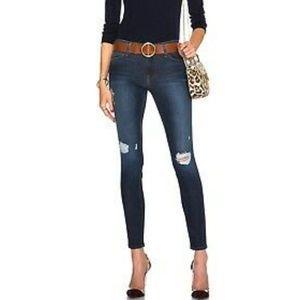 Frame Denim Le High Skinny Distressed Jeans 27